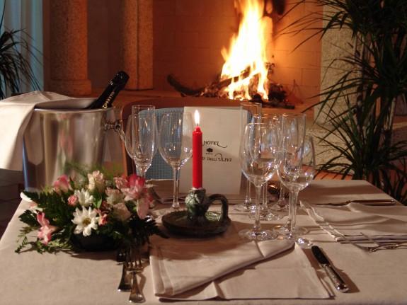 lantligt beläget hotell på Sardinien