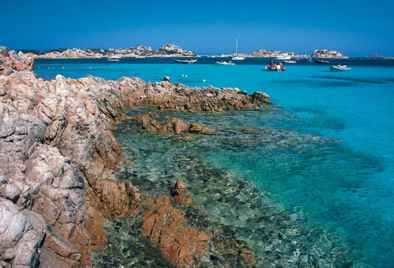Utblick över La Maddalena-arkipelagen
