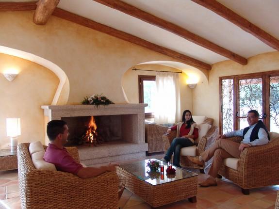 lantligt beläget hotell nära Costa Smeralda