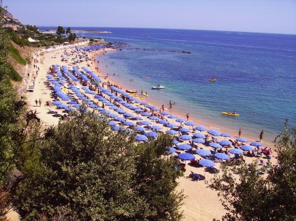 Privat strand till Cala Gonone Village Hotel