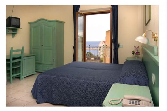 Interiör, rum, Hotel San Francisco, Cala Gonone