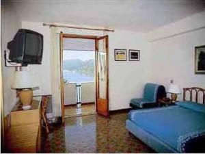 Interiör, ett av hotellrummen