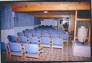 Konferensrum i hotellet med plats för ett 40-tal personer
