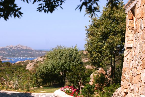 Trädgården till Villa Mascaratu